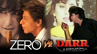 Shahrukh Khan Recreates DARR Scene In ZERO Movie For Katrina - I Love Katrina