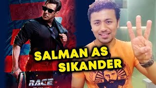 RACE 3 - Salman Khan As Sikander FIRST POSTER OUT | Releasing 15 June 2018