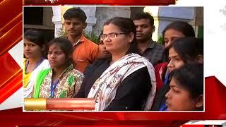 मिर्जापुर - स्कूल प्रबंधिका ने लगाए सत्ताधारियों पर आरोप - tv24