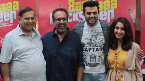 Maniesh Paul, Manjari Fadnnis, David Dhawan At Screening Of Baa Baaa Black Sheep