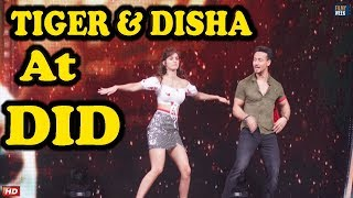 Tiger Shroff & Disha Patani On Sets Of DID Lil' Masters