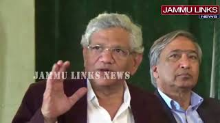 Kashmir can be integral part of India only after Article 370 was fully restored: Yechury