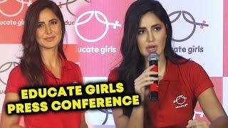 Educate Girls NGO's Press Conference With Katrina Kaif | CHIT CHAT With Katrina Kaif