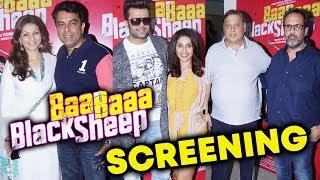 UNCUT - Baa Baa Black Sheep Special Screening | Manish Paul, Manjiri, David Dhawan, Anand L Rai