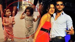 Watch Karanvir Bohra's CUTE TWINS Running At Airport - Adorable Moment