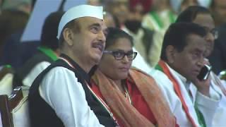 Shashi Tharoor Speech at the Congress Plenary Session 2018