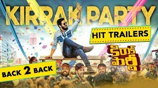 Kirray Party Movie Back 2 Back Super Hit Trailers - Nikhil Siddharth, Simran Pareenja