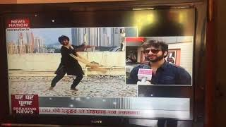 Devesh Mirchandani's Ghoomar on News Channel (Interview)