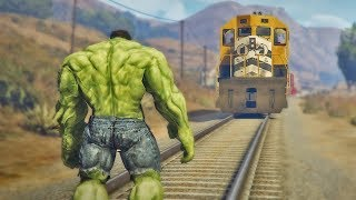 Hulk vs Train - How to stop a train | comedy video by Baklol Bunny