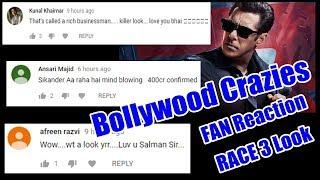 Salman Khan Race 3 Look I Bollywood Crazies Fan Reaction