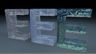 Real Flow - Fill Text with Water - Cinema 4D Tutorial