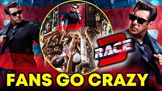 RACE 3 Salman Khan FIRST LOOK | Fans Go Super Crazy | Internet JAMMED