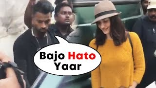 Rumored Couple Hardik Pandya And Elli Avram Spotted Together AT Mehboob Studio
