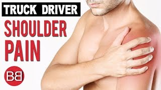 Truck Drivers Shoulder Pain Exercises! (Hindi / Punjabi)