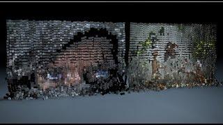Pixel Art - Image Pixelate Cube Explosion in Cinema 4D Tutorial