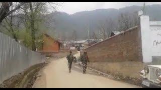 कुपवाड़ा में सुरक्षाबलों और आतंकियों के बीच फायरिंग, एक SOG घायल