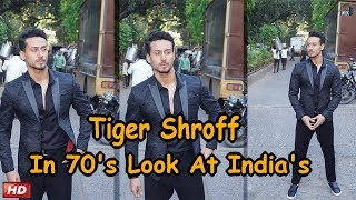 Tiger Shroff In Retro Look!!