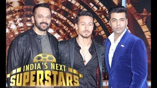 Tiger Shroff on the sets of 'India's Next Superstars' for Baaghi 2 Promotion