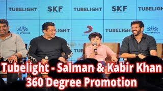 TubelightSalman & Kabir Khan 360 Degree Promotion