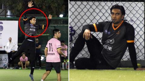 Ranveer Singh Playing Football