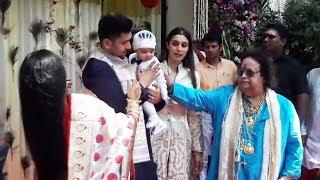 Bappi Lahiri HOSTS Rice Eating Ceremony For Grandson Krishh - Annaprasanna