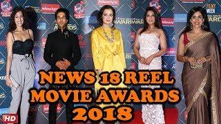 RICHA CHADDHA, DIA MIRZA & RAJKUMAR RAO - Reel Movies Awards