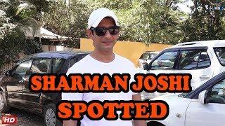 Sharman Joshi Spotted For Dubbing His Upcoming Film Kaashi
