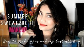 Summer Sweat Proof Makeup for Beginners using 5 Products | Makeup Using Ponds BB Cream
