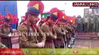 Wreath laying ceremony of Policeman Deepak Thusoo