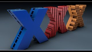 Boole Text Styles Making in Cinema 4D Tutorial