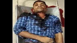 एक लाख का इनामी बदमाश मुठभेड़ में ढेर, 2 पुलिस कर्मी घायल