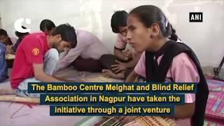 Specially Abled People Making Bamboo Crafts to Earn their Livelihood