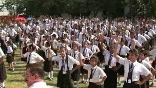 Dance For International Book Of Records in Amritsar