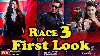RACE 3 FIRST LOOK : Salman Khan, Jacqueline Fernandez, Bobby Deol & Daisy Shah