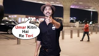 Varun Dhawan SPOTTED At Airport, Asks Funny Questions To Media