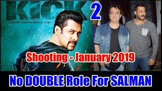 Salman Khan Will Not Have Double Role In Kick 2