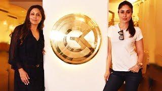 Kareena Kapoor VISITS Gauri Khan's Interior Design Studio 'Gauri Khan Designs'