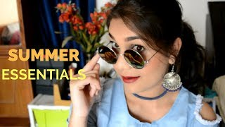 My Summer Essentials 2018 | All Under Budget, Effective & Affordable | Nidhi Katiyar