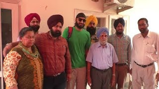 England Cricketer Monty Panesar Surprise to grandfather