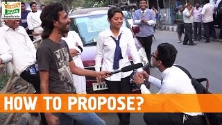 How To Propose?   Social Experiment in India   Proposals in Public   How India Think