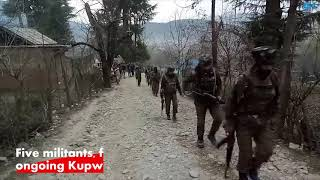 Five militants, four forces' personnel killed in ongoing Kupwara gunfight