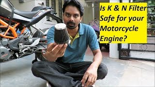 Is K & N Filter Safe for your Motorcycle Engine?