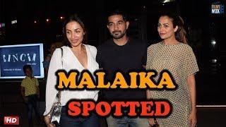 Amrita With Husband Shakeel Ladak & Malaika Arora : CELEB SPOTTING