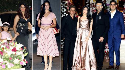 Akash Ambani - Shloka Mehta's Engagement Bash: Aishwarya Rai, SRK, Katrina Kaif, Karan Johar