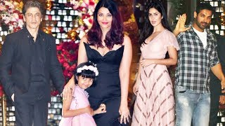Akash Ambani's Engagement Party | Shahrukh Khan, Katrina Kaif, Aishwarya Rai, John Abraham