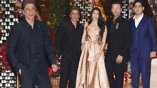 Shahrukh Khan At Akash Ambani And Shloka Mehta Engagement GRAND PARTY