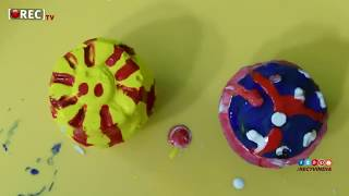 How To Make Mould And Paint Cup Cakes 2018 | rectv india