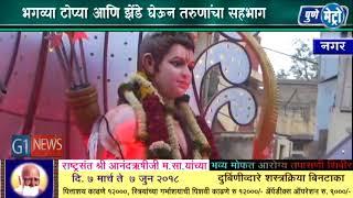 Ahmednagar Ramnavami  Hindu Rashtra Sena हिंदू राष्ट्र सेनेच्या वतीने नगरमध्ये रामनवमीचा जल्लोष