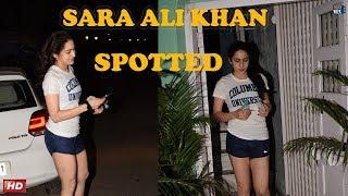 Sara Ali Khan Daughter of Saif Ali Khan at PVR Juhu