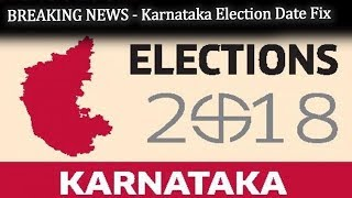 Breaking News  - Karnataka Election Date Fix | Karnataka Elections | Top Kannada TV